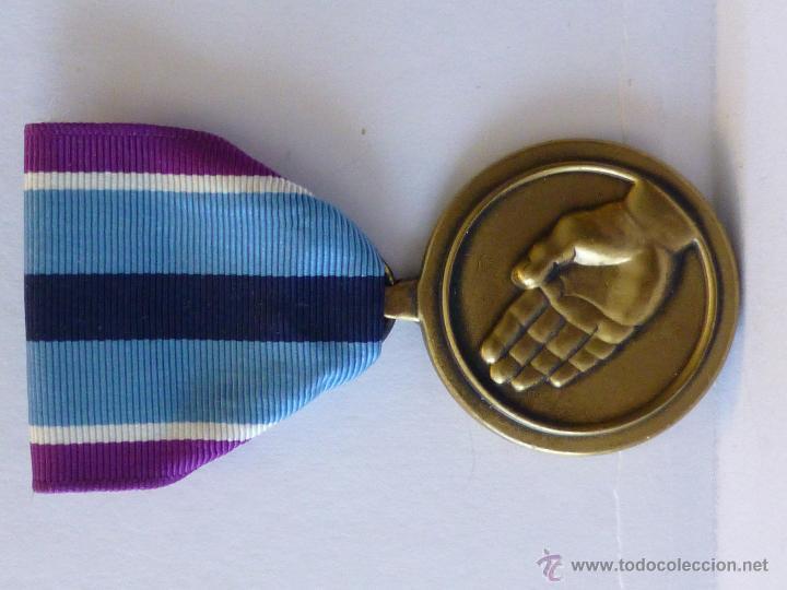 Militaria: Medalla militar estadounidense por Servicio Humanitario - Foto 5 - 43848848
