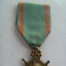 Militaria: MEDALLA DE BENEMERITO POR LA PATRIA , EPOCA ISABEL II . SIGLO XIX . ORIGINAL.. Lote 44032640
