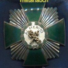 Militaria: PLACA DE LA ORDEN DEL MÉRITO DE LA GUARDIA CIVIL. DISTINTIVO BLANCO.. Lote 44201505