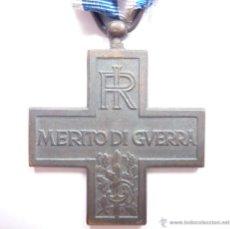 Militaria: ITALIA: CRUZ DEL MÉRITO DE GUERRA (MEDALLA VARIANTE: REPÚBLICA ITALIANA). Lote 44300768