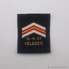 Militaria: GUERRA CIVIL MEDALLA NAVAL COLECTIVA DESTRUCTOR VELASCO 18-9-37. Lote 222939492