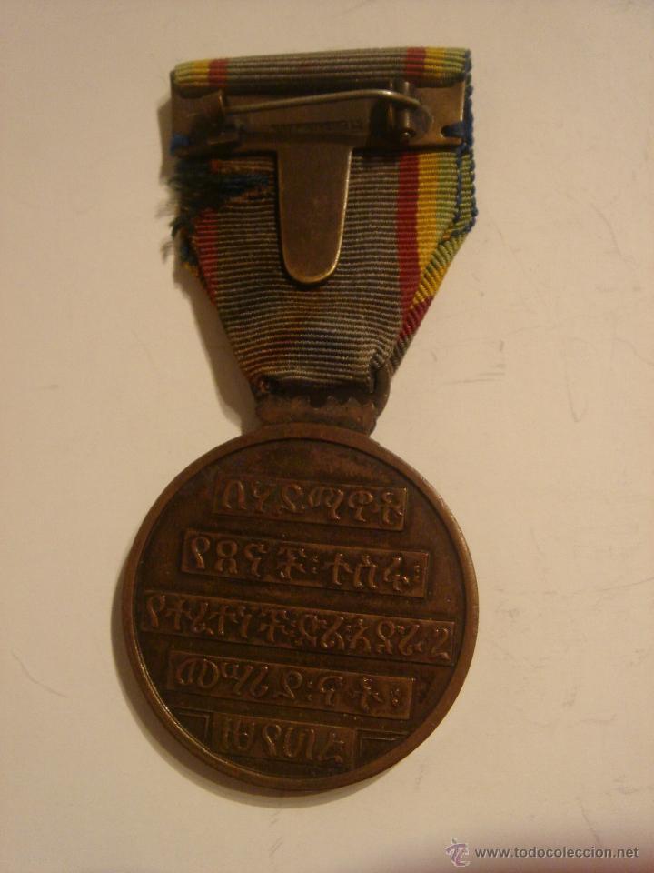 Militaria: WWII. ETIOPÍA. MEDALLA DE LOS REFUGIADOS. 1941 - Foto 2 - 44395808