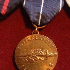 Militaria: WWII. SUECIA. PASADOR DE MEDALLAS FINLANDESAS PARA VOLUNTARIO SUECO. Lote 44432313
