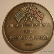 Militaria: WWII. URUGUAY. COOPERACIÓN INDUSTRIAL ANGLO URUGUAYA. Lote 44432370