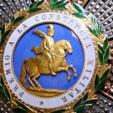 Militaria: PLACA DE LA REAL Y MILITAR ORDEN DE S. HERMENEGILDO. ORO, PLATA Y ESMALTES.. Lote 44715584