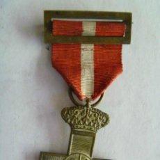 Militaria: MEDALLA CRUZ DEL MERITO MILITAR DISTINTIVO ROJO DE TROPA. GUERRA CARLISTA , CUBA O DE AFRICA ... Lote 44734741