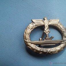 Militaria: CONDECORACION ALEMANA UBOOT EN ORO KRIEGSMARINE. Lote 45151825