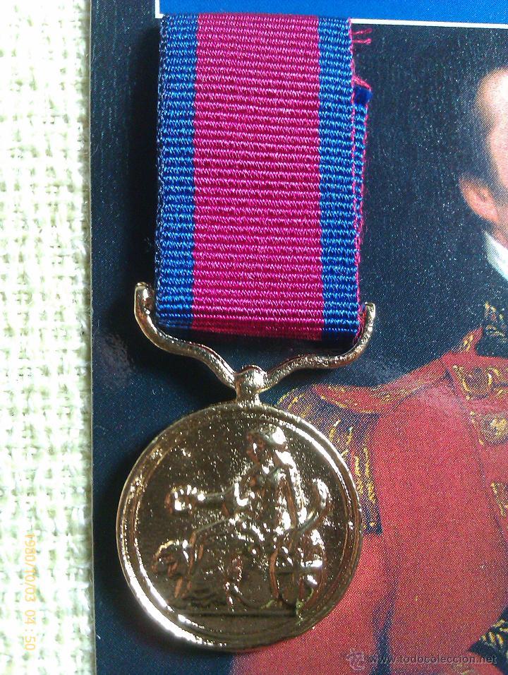 Militaria: Medalla Miniatura Army Gold Medal. Wellington. Reino Unido. 1810-1812 - Foto 2 - 45158828