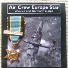 Militaria: MEDALLA MINIATURA AIR CREW EUROPE STAR. FRANCIA Y ALEMANIA. 1939-1945. II GUERRA MUNDIAL. Lote 45298303