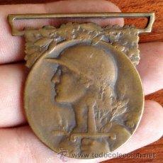 Militaria: MEDALLA INSIGNIA MILITAR GRANDE GUERRE 1914-1918 REPUBLIQUE FRANÇAISE LA GRAN GUERRA FRANCIA. Lote 65908367