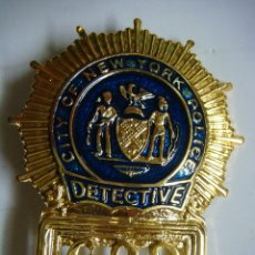 Militaria: CHAPA DE LA CITY OF POLICIA DE NEW YORK DETECTIVE 682. Lote 178206056
