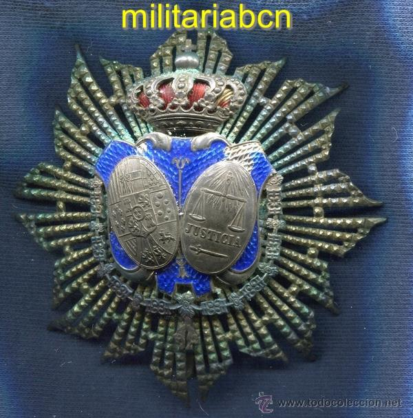 PLACA DE JUEZ. MINISTERIO DE JUSTICIA. EPOCA ALFONSO XIII. (Militar - Medallas Españolas Originales )