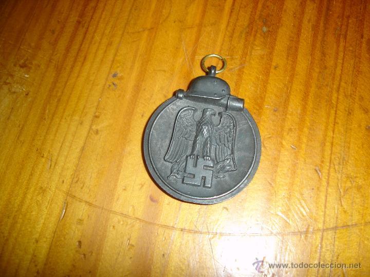 OSTMEDAILLE ORIGINAL,(ANILLA CAMBIADA) MEDALLA DEL FRENTE DEL ESTE O CARNE CONGELADA ORIGINAL (Militar - Medallas Extranjeras Originales)