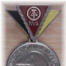 Militaria: MEDALLA CATEGORIA PLATA MILITAR COMUNISTA SOLDADO RESERVA ALEMANIA DDR INSIGNIA NVA. Lote 45897406