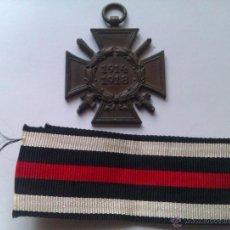 Militaria: MEDALLA CRUZ DE HONOR PARA COMBATIENTES. 1914-1918. I GUERRA MUNDIAL. ALEMANIA. Lote 46045175