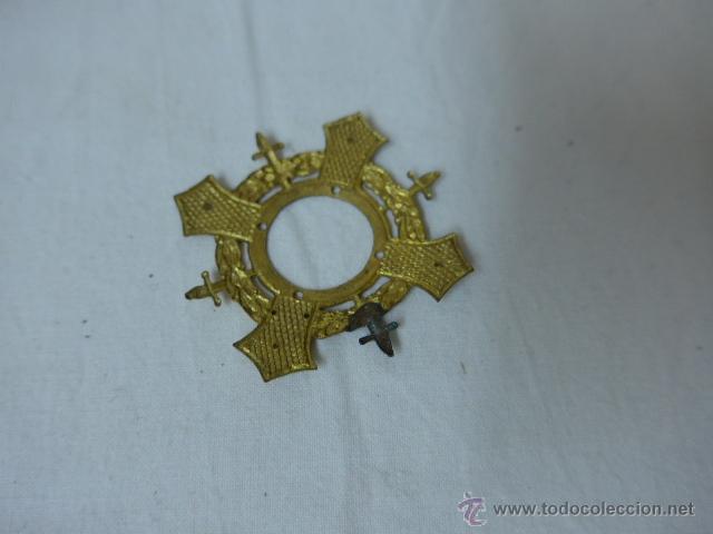 Militaria: Antigua parte de medalla merito en campaña, guerra civil - Foto 2 - 46074993