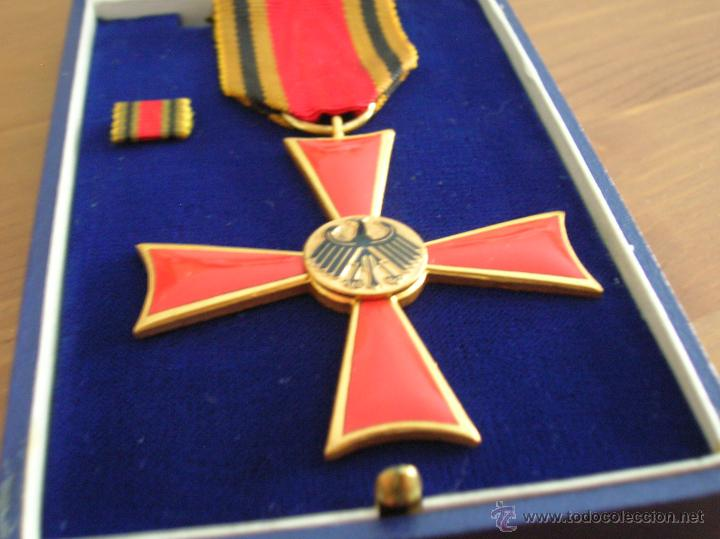 ORDEN DEL MERITO DE LA REPUBLICA FEDERAL ALEMANA. (Militar - Medallas Extranjeras Originales)