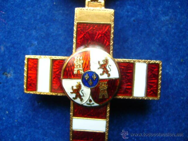 Militaria: cruz merito militar distintivo rojo pensionada alfonsina en oro condecoracion joya - Foto 3 - 46236284