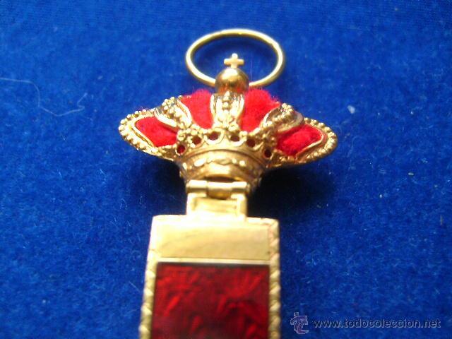 Militaria: cruz merito militar distintivo rojo pensionada alfonsina en oro condecoracion joya - Foto 6 - 46236284