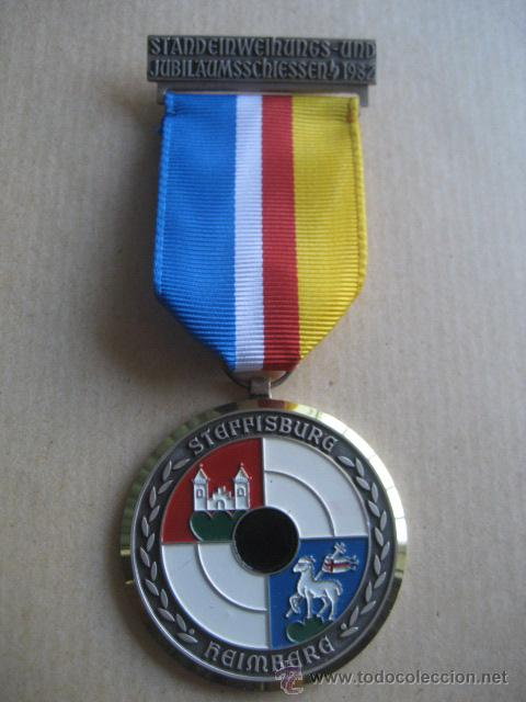 MEDALLA DE TIRO. AUSZEICHNUNG (Militar - Medallas Extranjeras Originales)