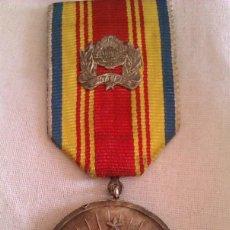 Militaria: MEDALLA RUMANA POR MERITOS MILITARES EN LA GUERRA FRIA CEAUSESCU RUMANIA 25 AÑOS REPÚBLICA SOCIALIST. Lote 46479675