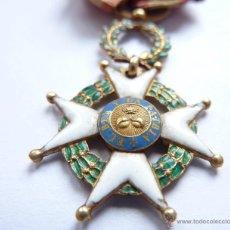 Militaria: CRUZ LAUREADA DE SAN FERNANDO EN ORO Y ESMALTES, PARA OFICIALES - 1815 -1856 MEDALLA MÉRITO MILITAR. Lote 46744779
