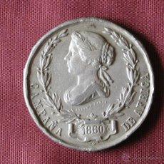 Militaria: MEDALLA DE ÁFRICA 1860. ISABEL II. MEDALLA DE MANO. Lote 46767515