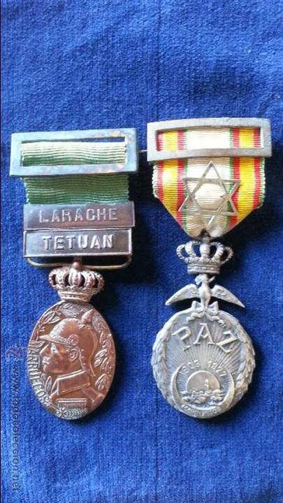 MEDALLAS TETUAN,LARACHE,ORIGINALES (Militar - Medallas Españolas Originales )