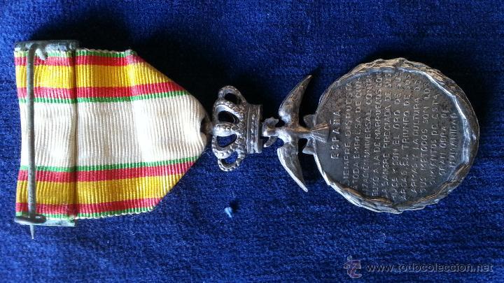Militaria: MEDALLAS TETUAN,LARACHE,ORIGINALES - Foto 3 - 47038244