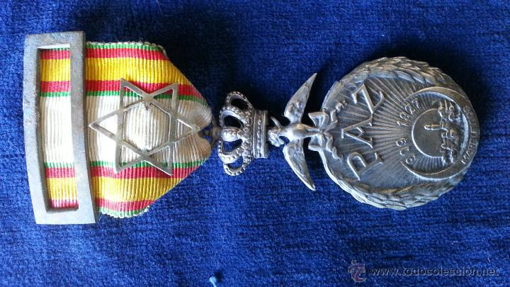 Militaria: MEDALLAS TETUAN,LARACHE,ORIGINALES - Foto 4 - 47038244