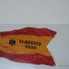 Militaria: CINTA BANDERA ESPAÑOLA 11 AGOSTO 1938. Lote 47046061