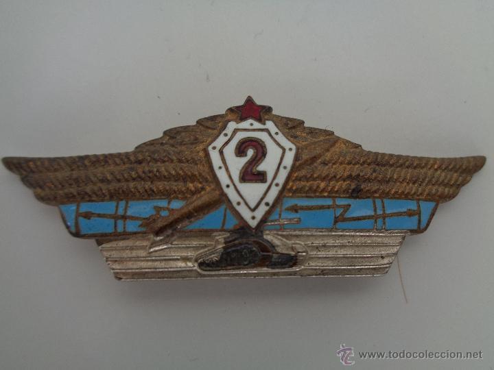MEDALLA - INSIGNIA RUSA - CCCP, URSS, 100 % ORIGINAL (Militar - Medallas Internacionales Originales)