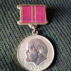 Militaria: MEDALLA SOVIETICA. LENIN 1870-1970. 100% ORIGINAL.. Lote 47499791