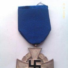 Militaria: MEDALLA 25 AÑOS DE LEAL SERVICIO AL ESTADO. ALEMANIA. 1938-1945. 2ª GUERRA MUNDIAL. ORIGINAL. Lote 47555485
