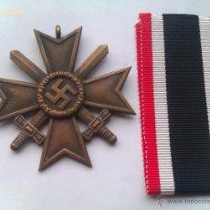 Militaria: MEDALLA CRUZ AL MÉRITO CON ESPADAS 2ª CLASE. ALEMANIA. 1933-945. 2ª GUERRA MUNDIAL. ORIGINAL. Lote 47555516