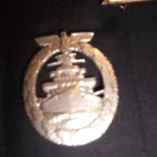 Militaria: CONDECORACION AEMANA DE A KRIEGSMARINE EN PLATA Y AGUJA TRASERA III REICH. Lote 47611984