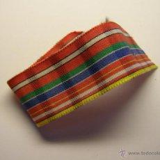 Militaria - Cinta de medalla indeterminada. - 47681338