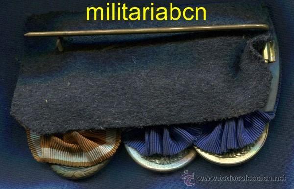 Militaria: Alemania III Reich. Pasador: - Medalla 4 Años Servicio Wehrmacht - Medalla 12 Años Servicio Wehrmac - Foto 2 - 47918226