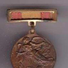 Militaria: MEDALLA 1 DE ABRIL 1939 MEDALLA DE BRONCE . Lote 19759500