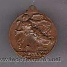 Militaria: MEDALLA 1 DE ABRIL 1939 MEDALLA DE BRONCE . Lote 19779726