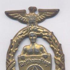 Militaria: ALEMANIA- 2º GUERRA MUNDIAL-WETTKAMPFTAGE-2-3-7-1938. Lote 48678823