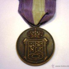 Militaria: MEDALLA DE MADRID-MAYO 1923- CATEGORIA BRONCE CON SU CINTA-MUY RARA. Lote 48813648