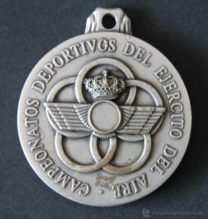 MEDALLA MILITAR CAMPEONATOS DEPORTIVOS DEL EJERCITO AIRE XXXVII TROFEO PATRULLAS MILITARES AÑO 2.000 (Militar - Medallas Españolas Originales )