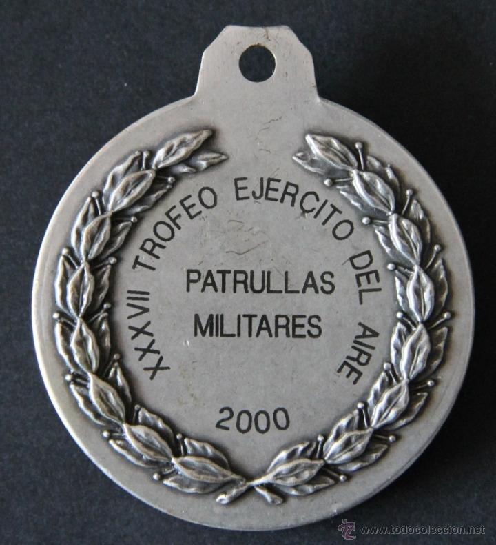 Militaria: MEDALLA MILITAR CAMPEONATOS DEPORTIVOS DEL EJERCITO AIRE XXXVII TROFEO PATRULLAS MILITARES AÑO 2.000 - Foto 2 - 48908205
