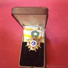 Militaria: ESTUCHE CON MEDALLA CRUZ DE LA ORDEN ISABEL LA CATOLICA. Lote 49077865