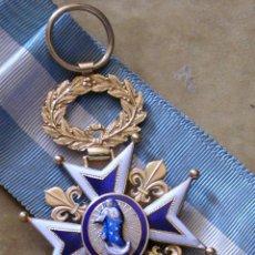 Militaria: REAL ORDEN DE CARLOS III. CRUZ DE CABALLERO. ÉPOCA ISABEL II. ORO. Lote 49565067