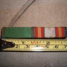Militaria: PASADOR DE DIARIO DOS CONDECORACIONES. Lote 49844073
