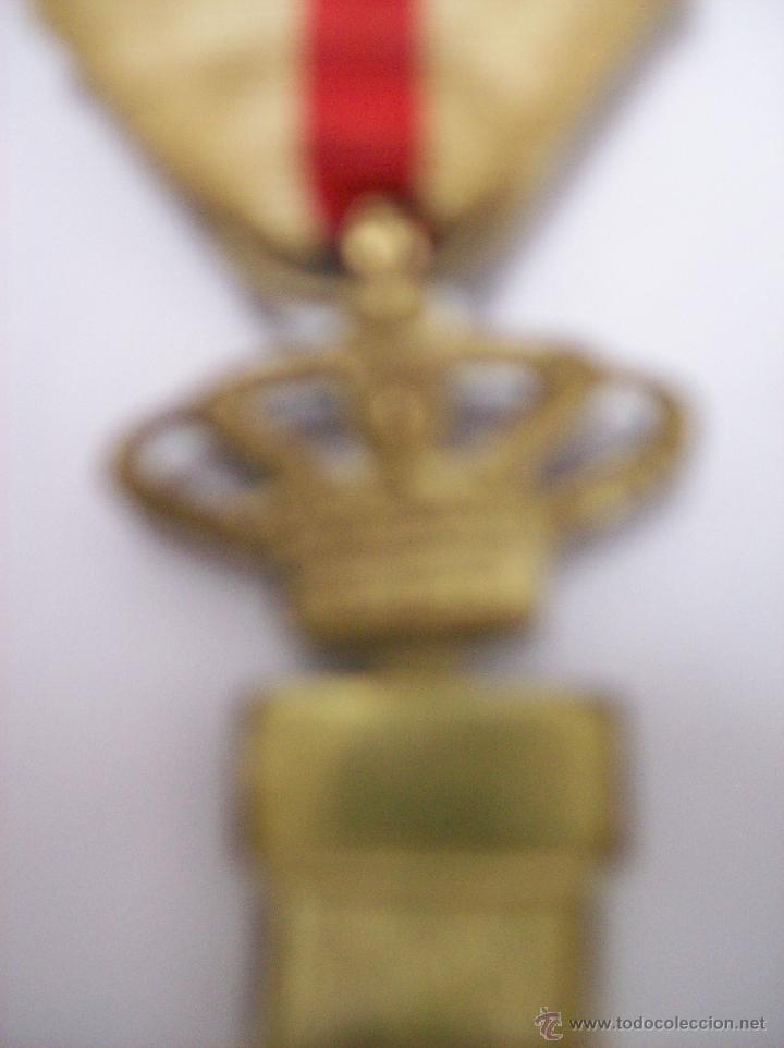 Militaria: MEDALLA AL MERITO MILITAR DE TROPA. DISTINTIVO BLANCO - Foto 3 - 50220770