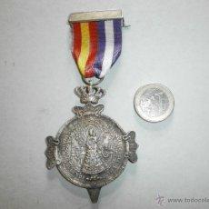 Militaria: MEDALLA GUARDIA CIVIL ASOCIACION D LA B.V.M.D.D.DL PILAR DL INSTITUTO. Lote 50248966