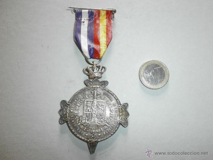 Militaria: medalla guardia civil asociacion d la b.v.m.d.d.dl pilar dl instituto - Foto 2 - 50248966